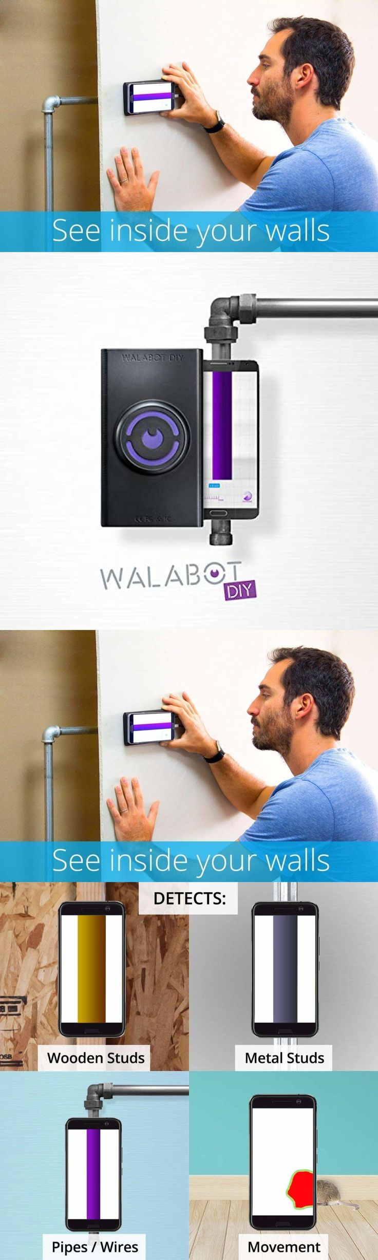Other cell phones and accs 42428 walabot in wall imager