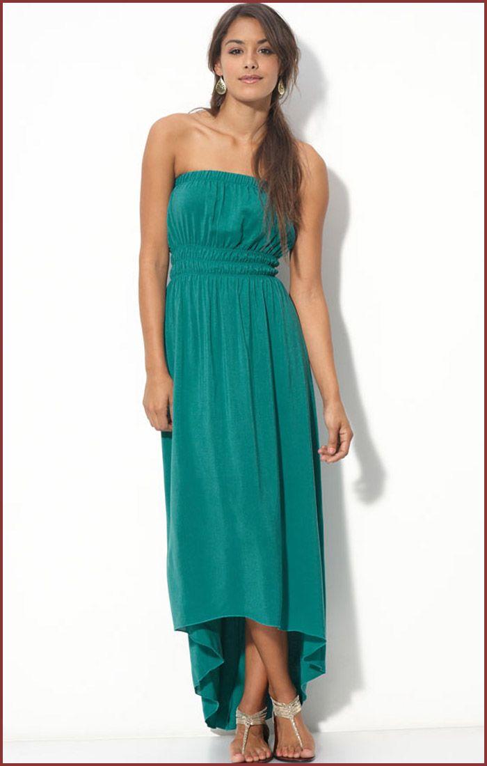 Long strapless summer dresses for juniors