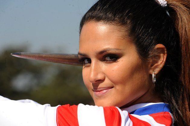 Leryn Franco - Paraguayan javelin team