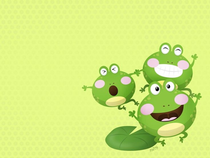 1000 images about wallpaper on pinterest language - Frog cartoon wallpaper ...