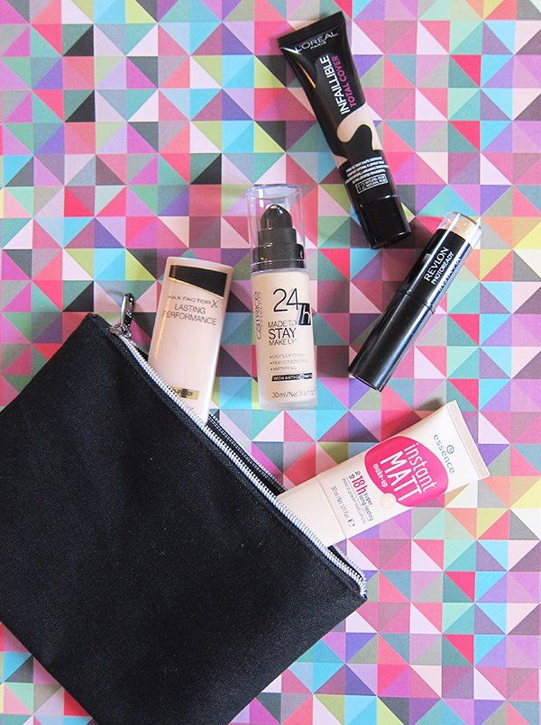 5 High Coverage Foundations im Roundup: Sandra Gimmel for Hey Pretty Beauty Blog