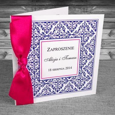 zaproszenie ślubne ażurkowe
