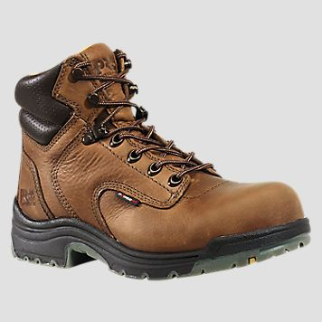 "Women's Timberland PRO® TiTAN® 6"" Alloy Toe Work Boots"