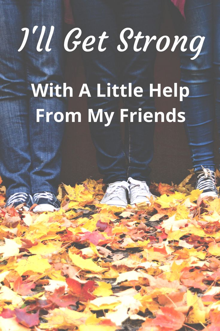 Meeting with others on a regular basis builds strength and resilience in our Mental Health. Friends build each other up to be strong.