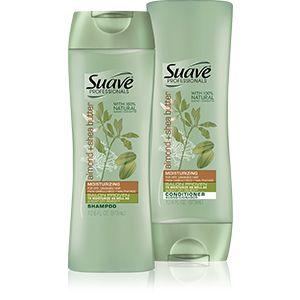 Almond+++Shea+Butter+Shampoo+&+Conditioner+|+Suave