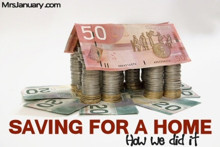 Saving for a Home - How We Did It