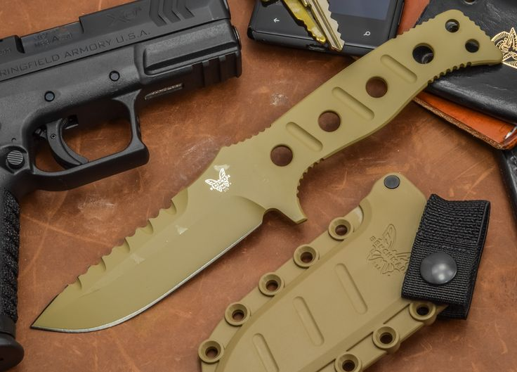 Benchmade Knives: 375SN - Sibert Fixed Adamas