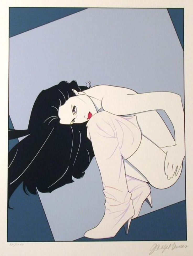 Patrick Nagel | Title Of Art: Playboy Portfolio I | Medium: Hand Signed By The Artist Serigraph On Paper  | Edition Size:  86/295 | Unframed Size: 20X16 Inches | Framed Size: Unframed | Value: $ 3200