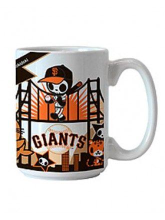 tokidoki x MLB Giants 15 oz Coffee Mug #giants #tokidoki