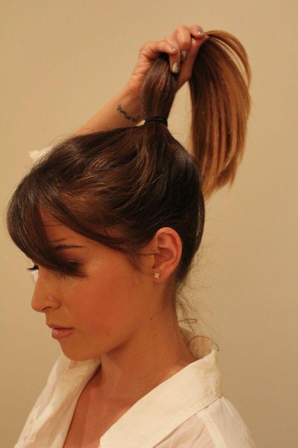 DIY Wedding Hair: A ModernBun - Blog - Destination Wedding Blog, DIY Wedding Ideas - Jetting to the Wedding