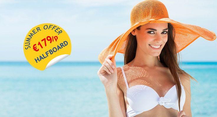 Καλοκαιρινές διακοπές - 7ήμερη προσφορά με ημιδιατροφή - http://www.ilia-mare.gr/kalokairini-prosforaΜια μοναδική παραλία με κρυστάλλινα νερά, ένα βουνό εκπληκτικής ομορφιάς και μια προσφορά που σας υπόσχεται το καλοκαίρι της ζωής σας. Το Ilia Mare hotel σας υποδέχεται και αυτό το καλοκαίρ