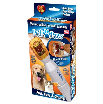 Pedi Paws Pet Nail Trimmer - #1 Vet Recommended Product!