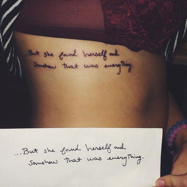 Taylor Swift designed a tattoo for a fan