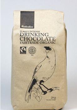 Kokako - Fairtrade Organic Drinking Chocolate. Check this and heaps more…