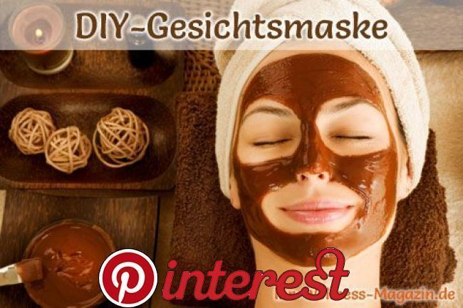 Make facial mask against dry skin yourself - recipe and instructions - #Instructions ...  -  Hautpflege-Rezepte
