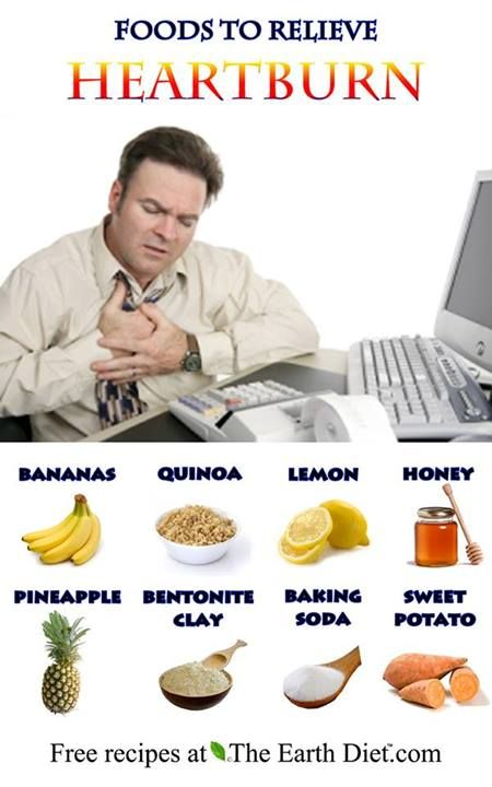 The Earth Diet  - FOODS TO RELIEVE HEARTBURN/ACID REFLUX!