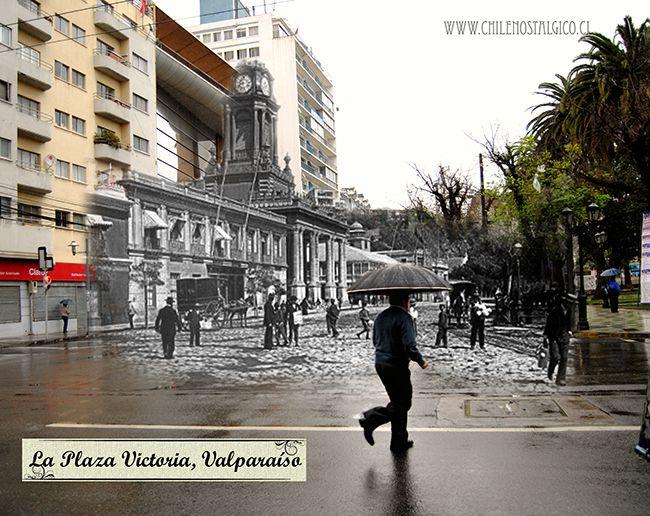 La Plaza Victoria Valparaíso