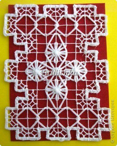 """Серия """"Филейно-гипюрная вышивка"""". Об этой технике вышивки можно посмотреть http://www.hnh.ru/handycraft/2011-05-16-6 фото 7"""