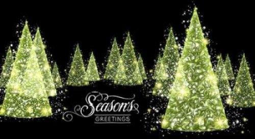 Seasons Greetings Poster Print by P.S. Art Studios (24 x 36)