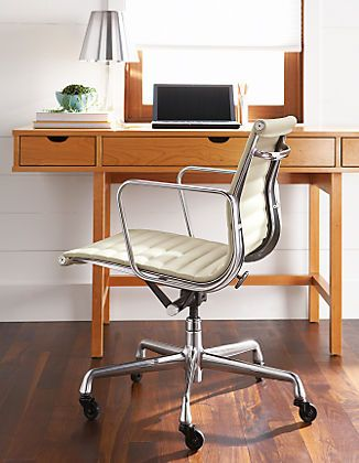 Charles & Ray Eames: Eames Aluminum Group Leather Chair