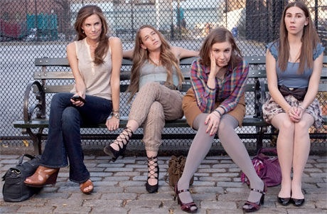 Who doesn't love this show - http://8tracks.com/thepurplebotttle/girls-hbo