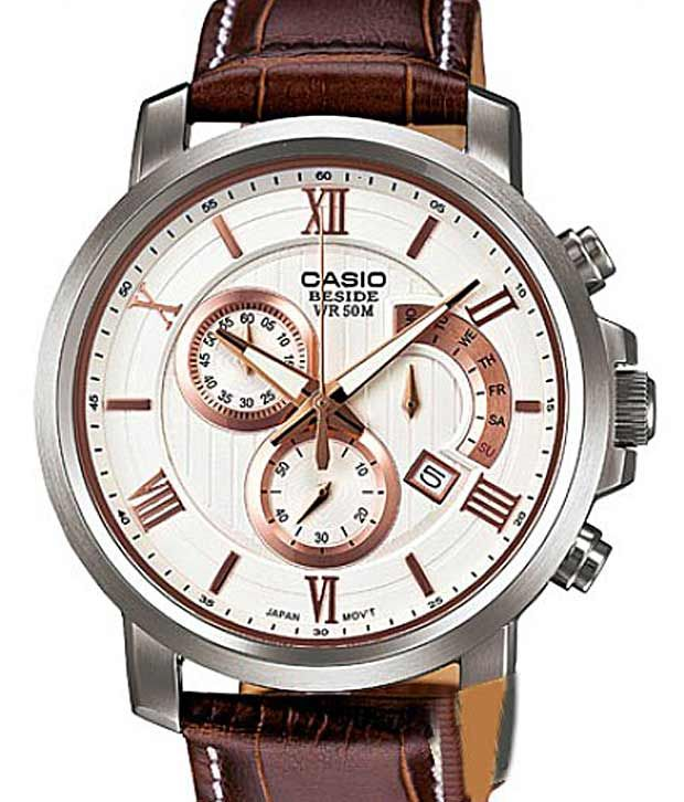 Casio Classic Beside BEM-507L-7AVDF (BS126) Men's Watch, http://www.snapdeal.com/product/casio-brown-strap-retrograde-watch/101373