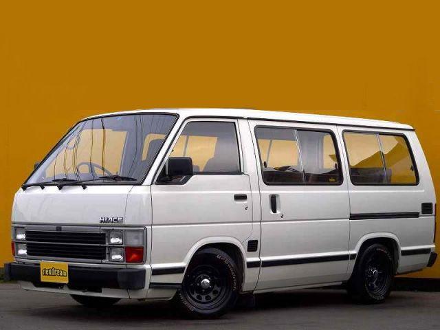 ハイエースワゴン50系後期角目四灯 Toyota hiace 50.
