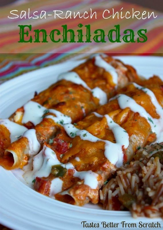 Share it!  I've mentioned many times that I LOVE Mexican inspired food! It always sounds good to me…no matter the weather and no matter my mood! These enchiladas are simple and full of flavor. Jeff raved and raved about them so I'm sure I'll be making them again soon! Jackson, my one-year-old, gobbled them...Read More »