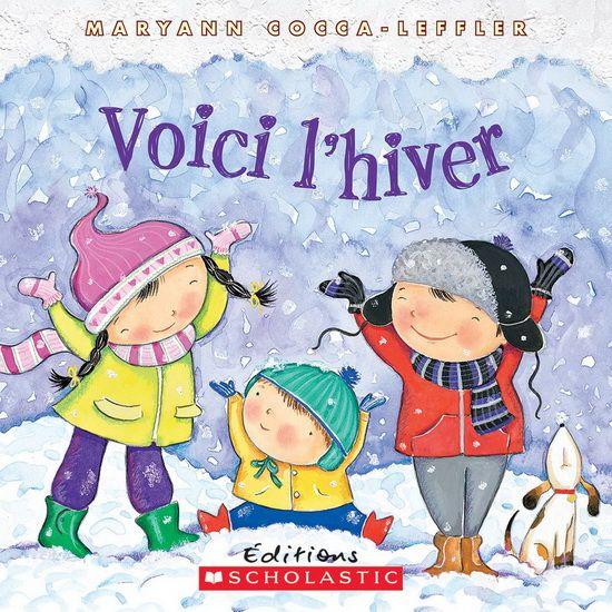 Voici l'hiver célèbre les merveilles de cette saison : les bonshommes de neige, le chocolat chaud, la lueur d'un feu de foyer et tout ce qui fait aimer l'hiver. Des images aux teintes douces, de mignons enfants et des scènes festives sont une toile de fond parfaite pour une belle lecture d'hiver.