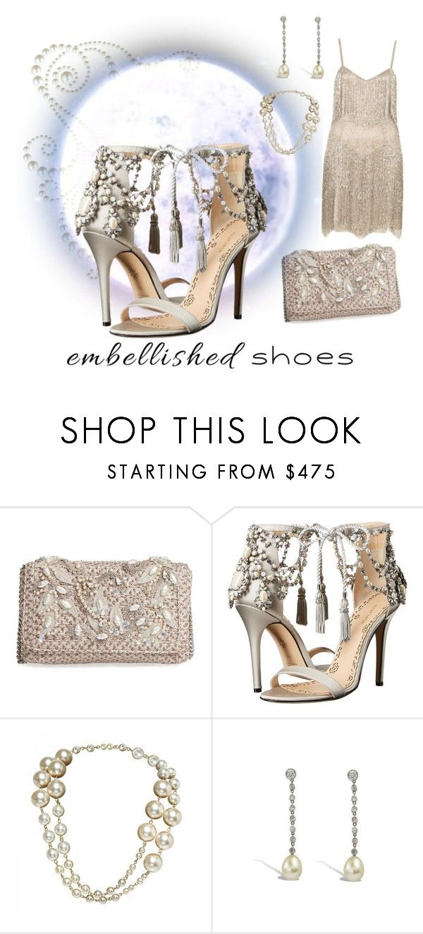 """Southern Night"" by kayegarten ❤ liked on Polyvore featuring Eric Javits, Marchesa and Chanel"