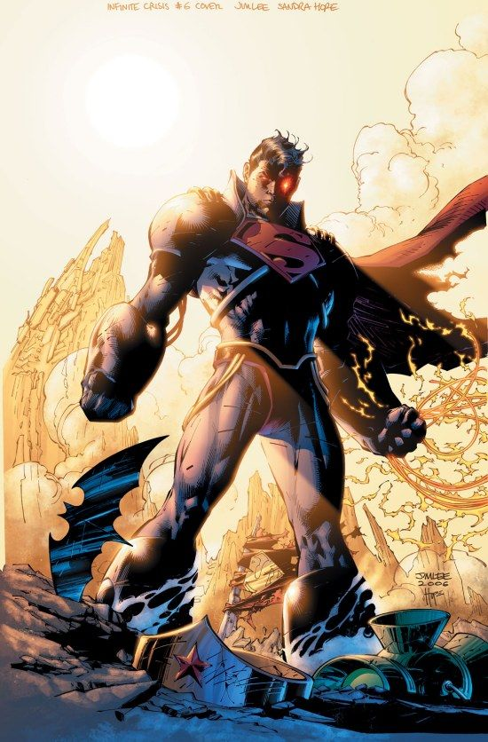 INFINITE CRISIS - Superboy Prime. I'm listening to this Graphic Audio right now. It's awesome!