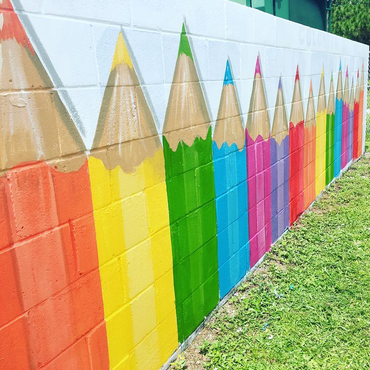 Best 25+ School murals ideas on Pinterest | School ...