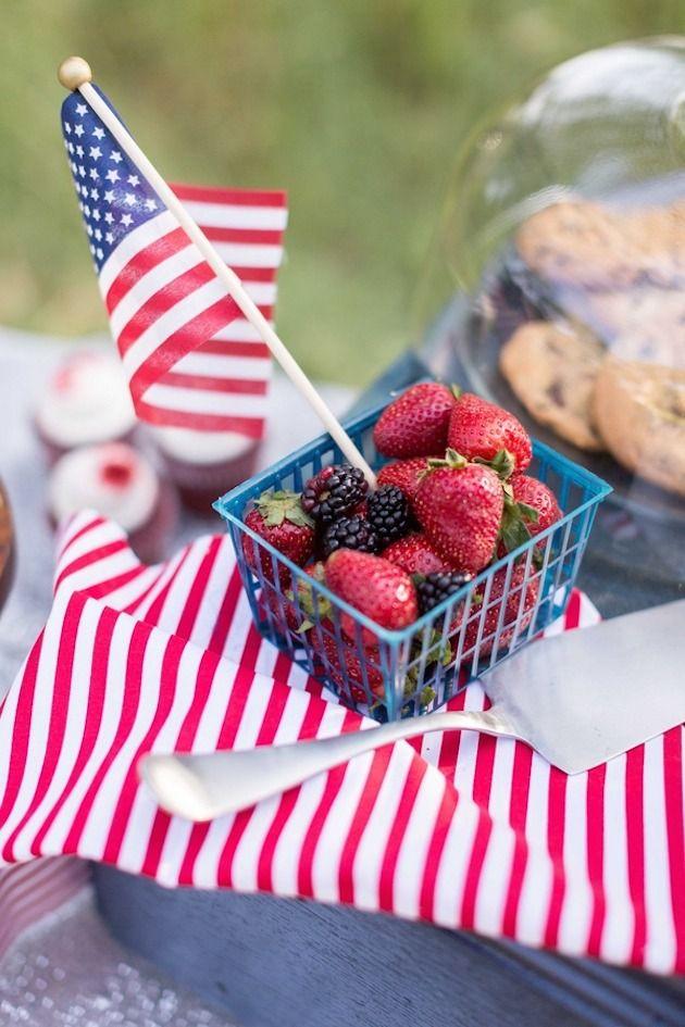 Summer Fruit + Labor Day Inspo!