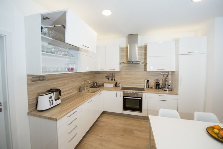 Furnished flat for rent with super kitchen in Budapest, 13.