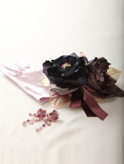 ウエディングドレス、高品質な結婚式ドレスならW by Watabe Wedding / ピンク・フラワープリント・プリンセスライン・カラードレス