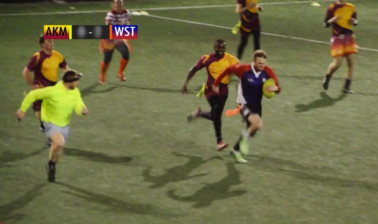 Tag Rugby Mixed Super League Round 4 (Spring 2015) - Akuma Mataggers v Wandering Strokers