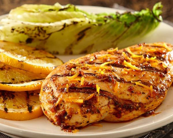 Grilled Orange-Ginger Chicken | Recipe