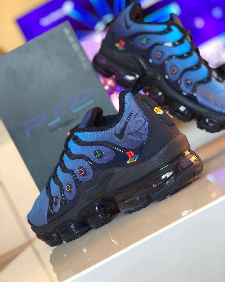 Nike Air VaporMax x Sony PlayStation by @sony_playstation_modding ...