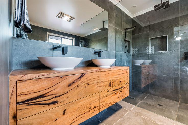 Marri Timber floating vanity