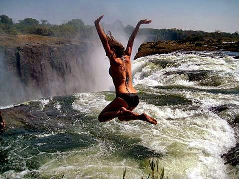 Devil's Pool at Victoria Falls
