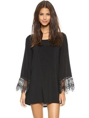 Shop Black Long Sleeve Floral Crochet Loose Dress online. Sheinside offers Black Long Sleeve Floral Crochet Loose Dress & more to fit your fashionable needs. Free Shipping Worldwide!
