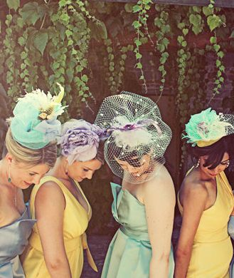 I would LOVE to have a bridal shower where you wear fancy hats!!! Elkkk! That's sooo me!!