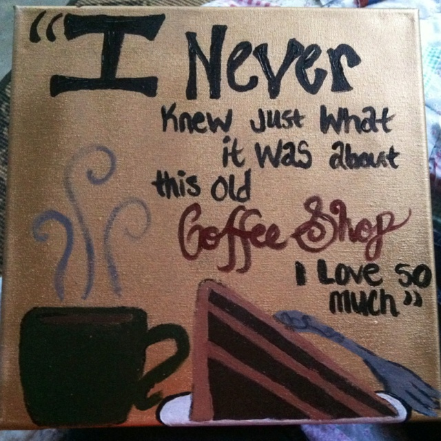 Lyrics Of Coffee House