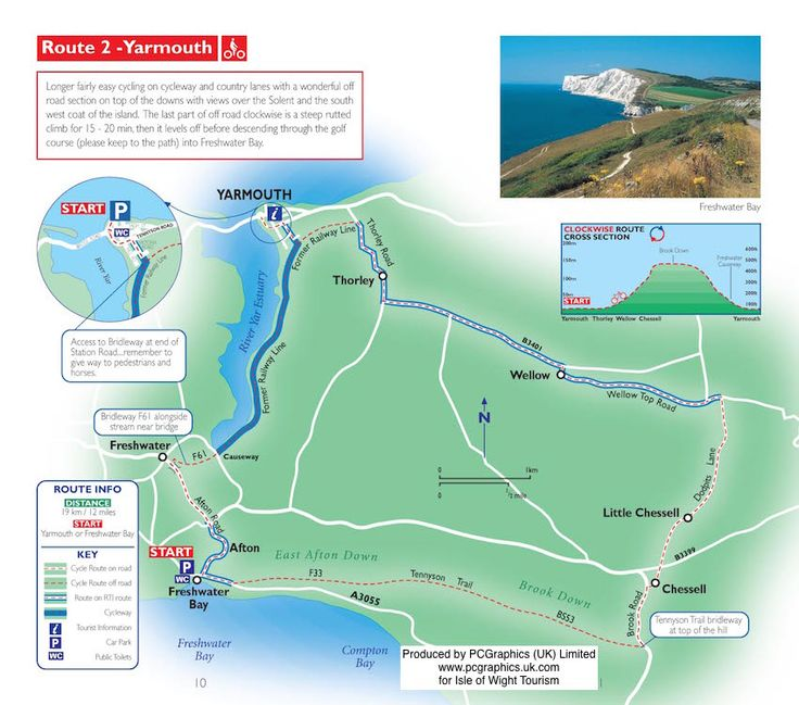 isle of wight cycle routes pdf