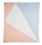 The Love Letter Baby Blanket Peach Parfait/Snow White/Illusion Blue http://kateandkate.com.au/shop/baby-blankets/love-letter-baby-blanket-peachparfait-snowwhite-illusionblue/