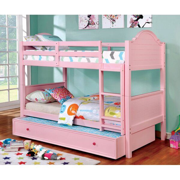Jepson Twin Over Twin Bunk Bed Kid Beds Bunk Beds Kids Bunk Beds