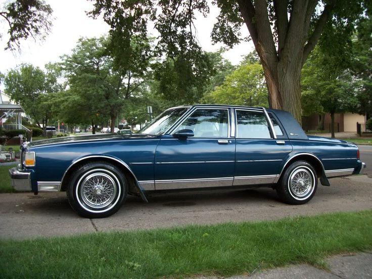 1989 Chevy Caprice Classic Brougham LS $4800