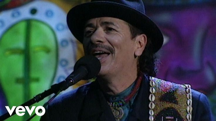 Carlos Santana and Africa Bamba. For the beat when you feel beat down.