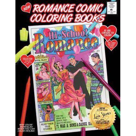 Romance Comic Coloring Book #6