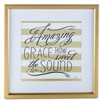 Gold & White Come Thou Fount Framed Wall Art by Lindsay Letters | Shop Hobby Lobby